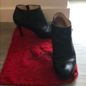Louboutin ankle heels